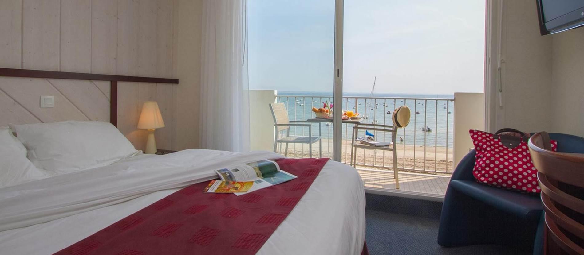 Hotel-de-la-Plage-St-Pierre-Quiberon-Morbihan-Bretagne-Sud © Hotel-de-la-Plage-St-Pierre-Quiberon