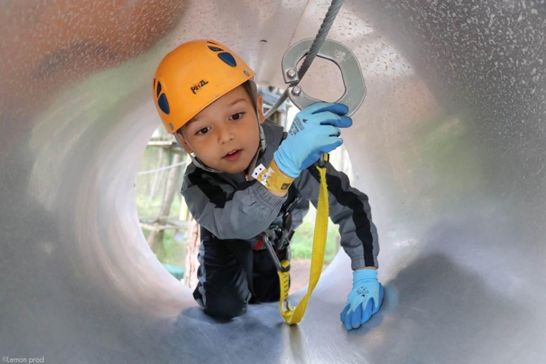 Parc Aventure FORET ADRENALINE - Carnac - KID 1 (4-6ans) © Parc-Forêt-Adrénaline-Carnac