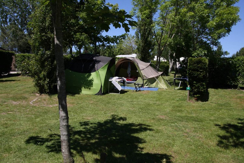 Emplacement-Camping-Les-Genets-Morbihan-Bretagne Sud © Camping Les Genets