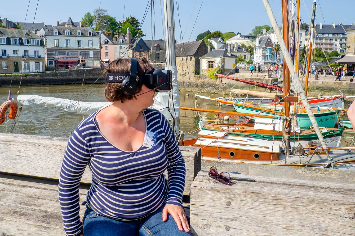 Immersion VR à Auray en 1480 ©