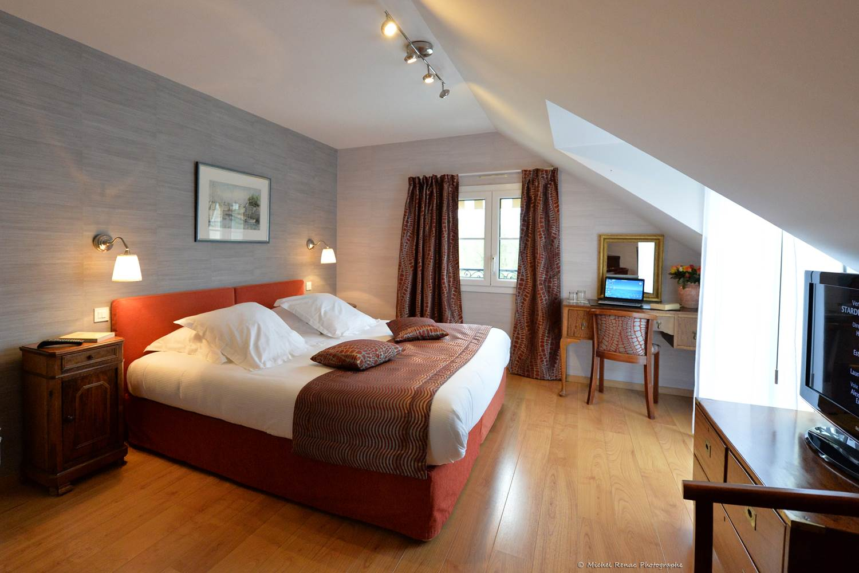 Hôtel-Le-Parc-er-Gréo-Suite-chambre 1-Arradon-Morbihan-Bretagne-Sud © Michel Rénac