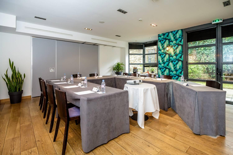 Salle séminaires hôtel restaurant Vannes Bretagne Sud ©
