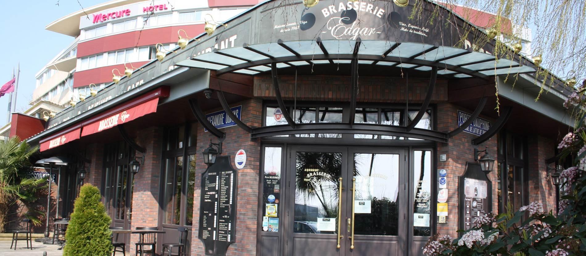 Entrée Brasserie Edgar © Hotel-Restaurant-Mercure-Le-Port-Vannes