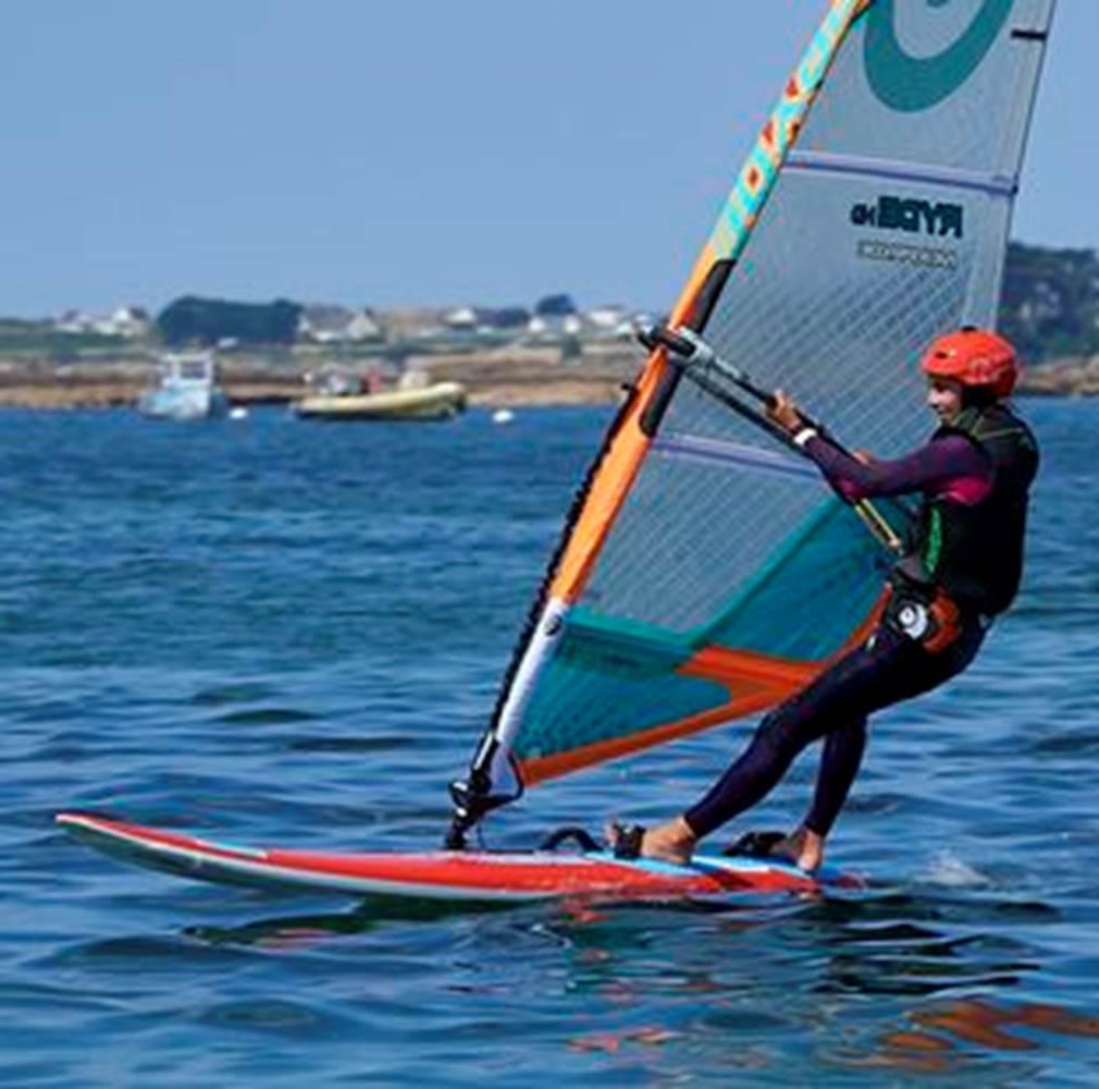 Planche à voile, Kerguelen Sports Océan ©