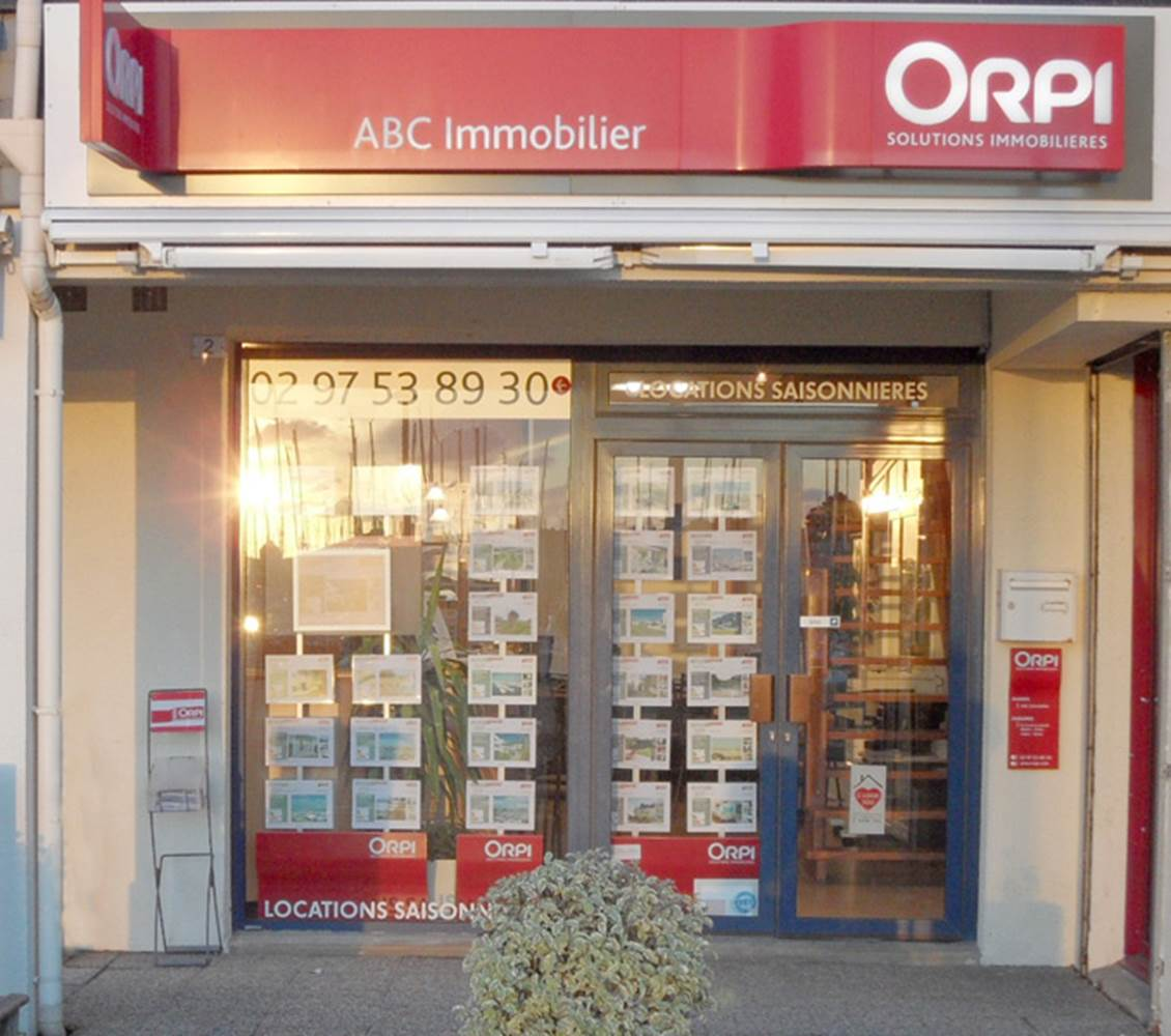 Agence Immobilière ABC Immobilier ORPI-Arzon-Morbihan Bretagne Sud © Agence Immobilière ABC IMMOBILIER - ORPI