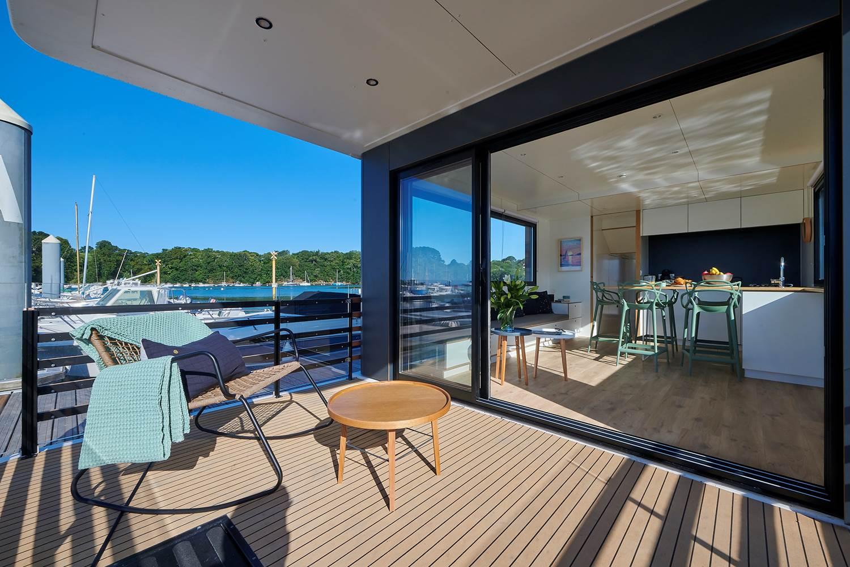 Lodge boat Guidel ©
