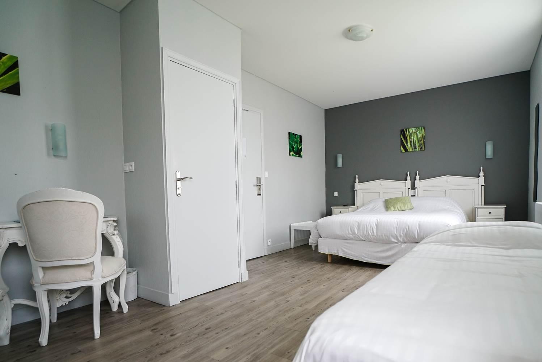 Hotel de la Citadelle - Bretagne sud - Lorient - Port Louis - Chambre Confort Triple 2 ©