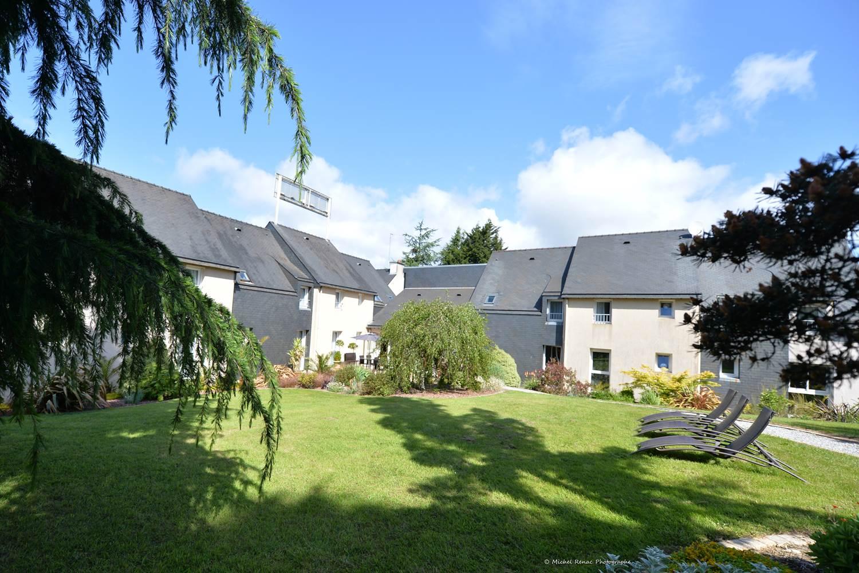 hotel-brithotellogislebranhoc-auray-Morbihan Bretagne Sud-exterieurs © hotel-brithotellogislebranhoc-auray