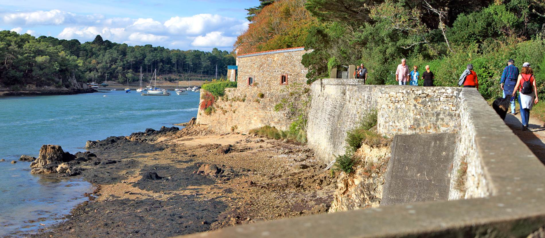 Le Tour du Golfe du Morbihan à pied  © Morbihan Tourisme