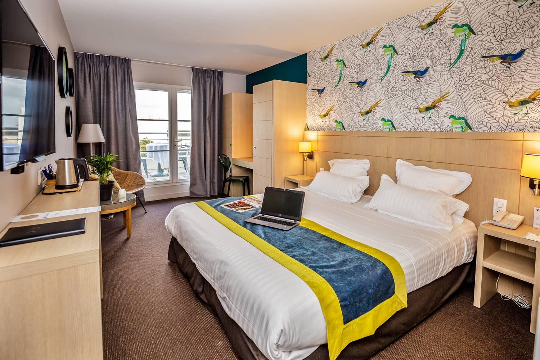 Chambre duplex hôtel BEST WESTERN PLUS Vannes centre-ville ©