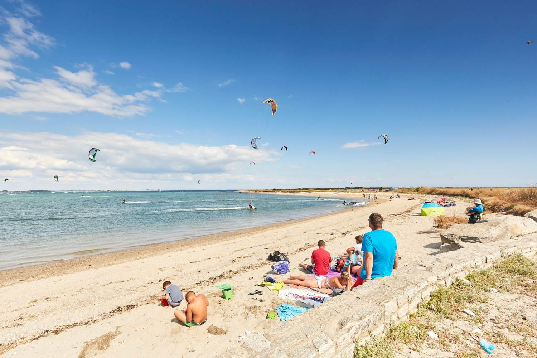 plage de Penvins à Sarzeau - Presqu'île de Rhuys - Golfe du Morbihan © Alexandre Lamoureux