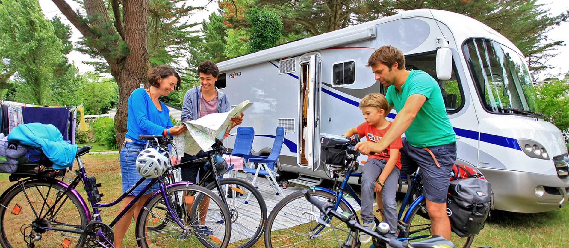 Camping-Manoir-de-Ker-An-Poul-Sarzeau-Golfe-du-Morbihan-Bretagne sud © Camping Manoir de Ker An Poul