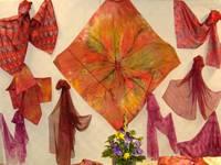 Exposition : peinture sur soie