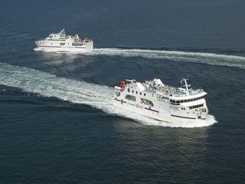 Compagnie Océane - Visite des bateaux de croisière