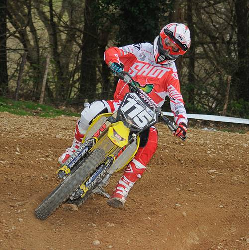 Moto-cross à Glenac
