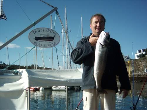 Pêche en mer : Tours d'Iles