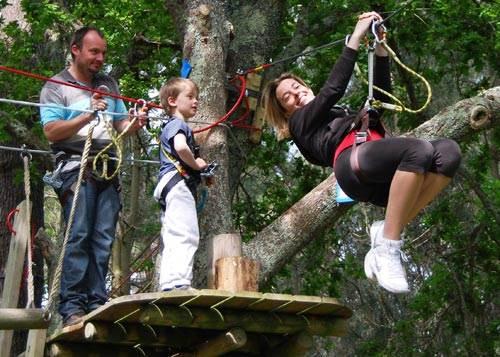 Parc Aventure  Le Poisson Volant