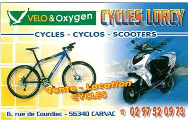 LOCATION DE CYCLES - Cycles LORCY