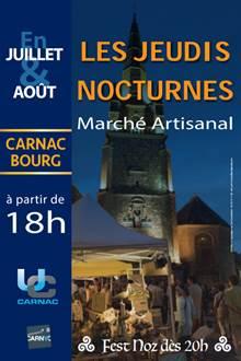 Les Nocturnes: Marchés et Fest Noz