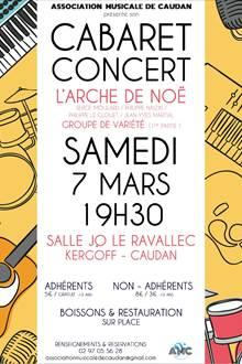 Cabaret Concert - L'Arche de Noë