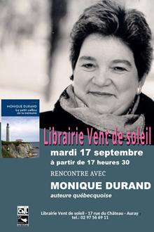 Rencontre avec Monique Durand