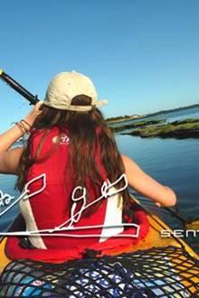 Eco-Rando Touristique en Kayak de Mer avec Sentiers Marins