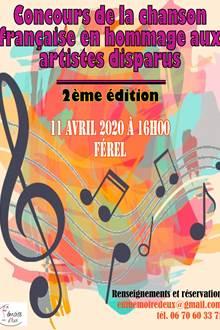 Concours de la chanson française en hommage aux artistes disparus