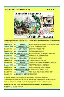 Animations au Maquis Chanchan à La Gacilly