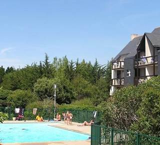 Quiberon - studio + coin couchage - 24m² - piscine