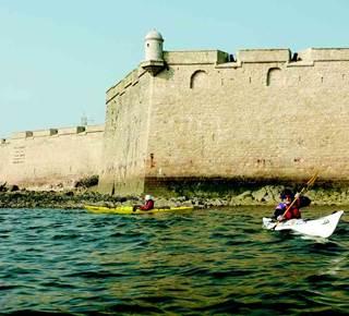 Tour de Gâvres en kayak de mer