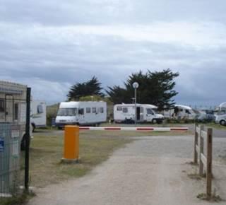 Aire d'accueil camping-car d'ETEL