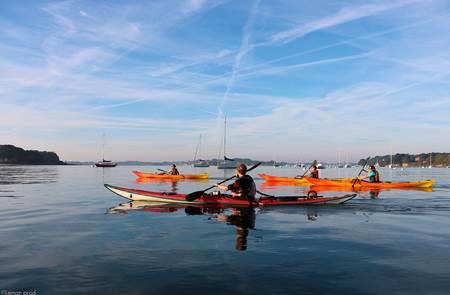 Balade nautique kayak à Larmor Baden