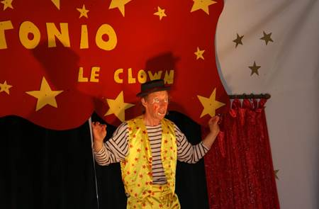 Spectacle Tonio le clown