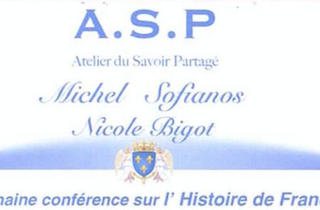 Conférences ASP - La Redécouverte de l'Histoire de France