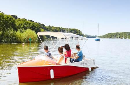 Ecol'eau - location de bateaux électriques