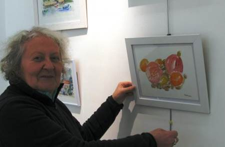 Exposition d'aquarelles et de dessins