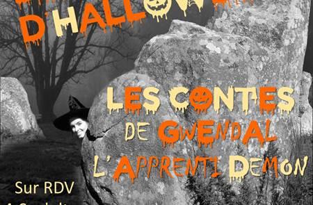Les Menhirs d'Halloween : Contes sous le chêne