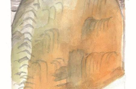 Exposition au Site des Mégalithes - Locmariaquer