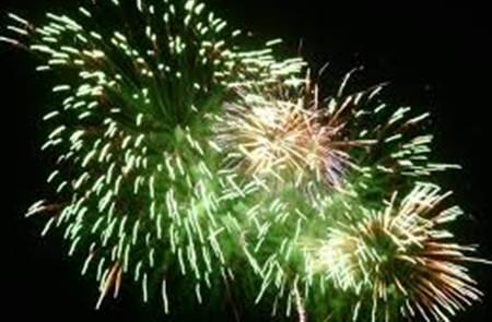 Feu d'artifice du 14 juillet - Locmariaquer