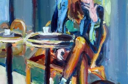 Exposition Anne-Sophie Larcena - Peintre, à la Criée de Port Navalo