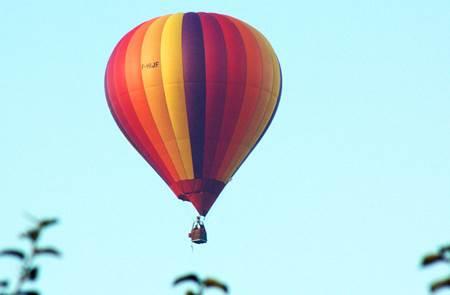 Association Portés par le vent - Vols en montgolfière au-dessus du Pays de Lorient
