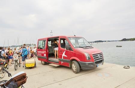 Lili Voyages, Visitez l'île aux Moines en Minibus