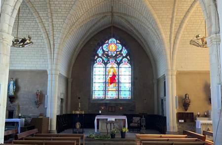 Visite de la Chapelle de Saint Théleau